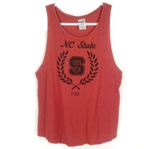 Victoria's Secret PINK NC State Muscle Tee Small S